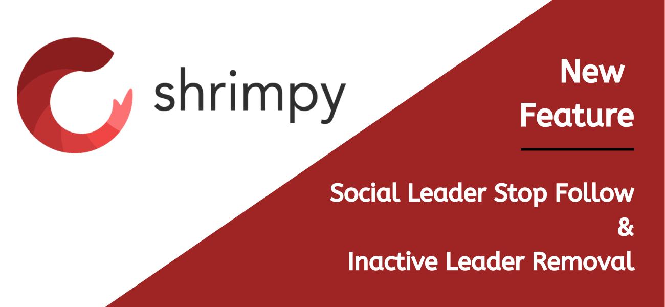 Shrimpy New Feature - Social Leader stop-follow