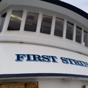 "Vessel – M/V ""First String"" a 1984 93′ Fishing Platform – Closing: 27 July 2020"