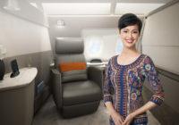 El lujo está en el aire con el nuevo airbus de Singapore Airlines