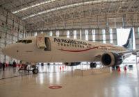 Aeroméxico recibió su primer 737 MAX 8