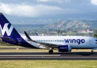 Wingo registra aumento de pasajeros y vuelos