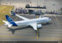 Así es el avión A220 de Airbus