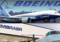 Boeing y Embraer establecerán una asociación estratégica aeroespacial