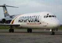 Aeropostal reanudó operaciones con vuelo Caracas-La Habana