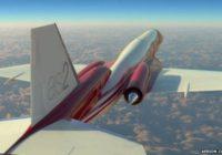 General Electric diseña motor para jet supersónico
