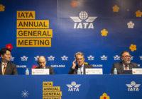 IATA anuncia que su 76ª Asamblea General Anual ha sido reprogramada del 23 al 24 de noviembre de 2020