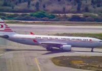 Turkish Airlines elevará a 5 sus vuelos semanales a Venezuela