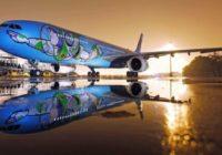 Viajar 'al infinito y más allá' con un Airbus A330-300 al estilo de Toy Story