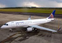 Embraer y United Airlines firman un contrato por hasta 39 aviones E175s
