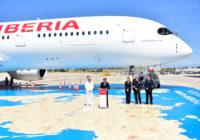 Iberia recibió su quinto A350-900 de un total de 20 pedidos a Airbus