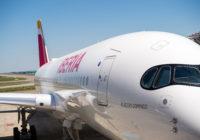 Bogotá, próximo destino del Airbus A350-900 de Iberia