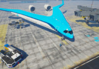 Así es el avión del futuro que financia KLM