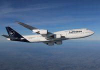 Lufthansa acuerda con el Estado alemán una ayuda de 9.000 millones de euros