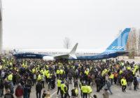 Boeing 737 MAX 10 hace su debut