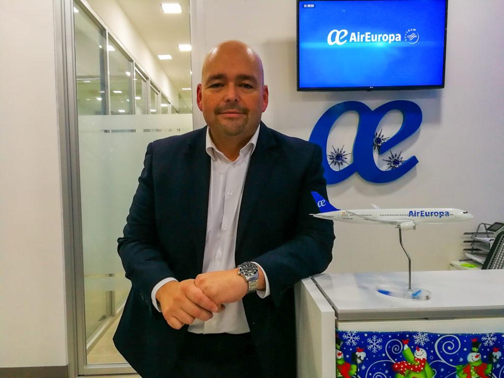 Carlos Conde, Air Europa