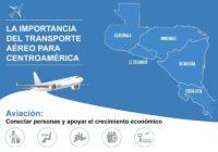Conozca la importancia económica del transporte aéreo en Centroamérica