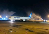 Air Europa aterriza en Fortaleza, Brasil