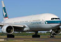 Cathay Pacific pide a sus empleados tomar licencia sin sueldo para evitar propagación del coronavirus