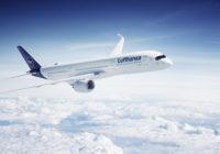 Grupo Lufthansa anuncia cancelaciones de vuelos para abril de 2020
