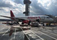 Avianca Cargo operó, por primera vez en Centroamérica, un Airbus A320 de pasajeros, únicamente para transportar carga