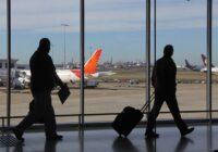En octubre, la demanda de pasajeros bajó un 70,6% en comparación al mismo mes del 2019