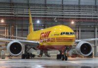 DHL compra ocho aviones Boeing 777 para fortalecer su red aérea global