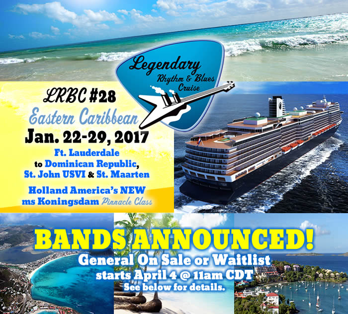 Blues Cruise January 2017