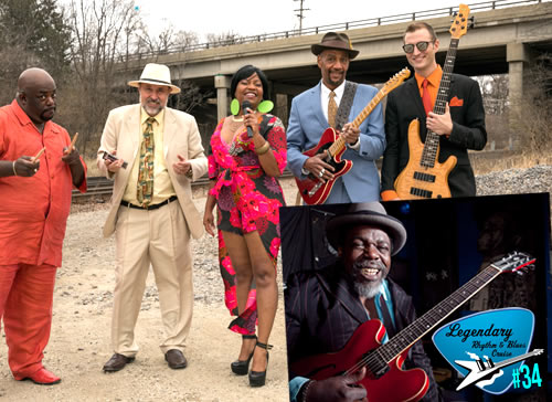 Mississippi Heat w/ Lurrie Bell Blues Cruise