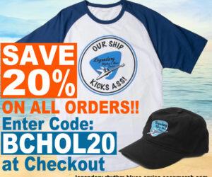 Save 20% on all orders @ the online Bluesin' Bazaar!