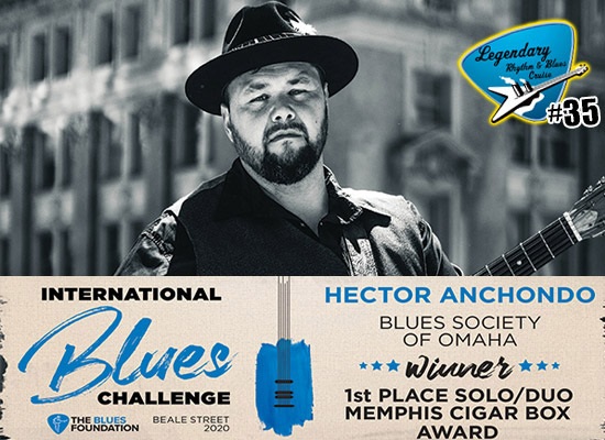 Hector Anchondo IBC Blues Cruise