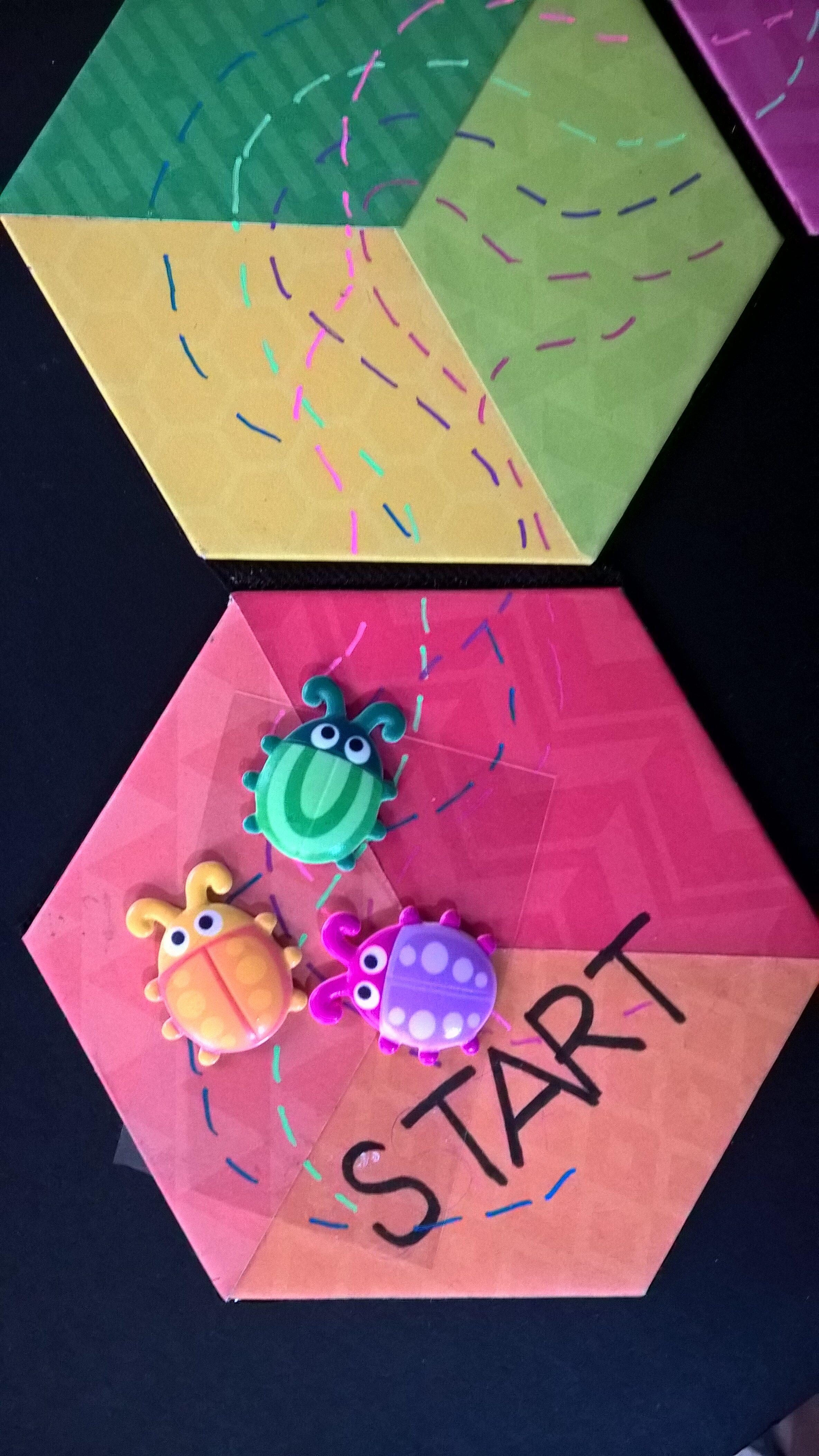 Bug Race Game