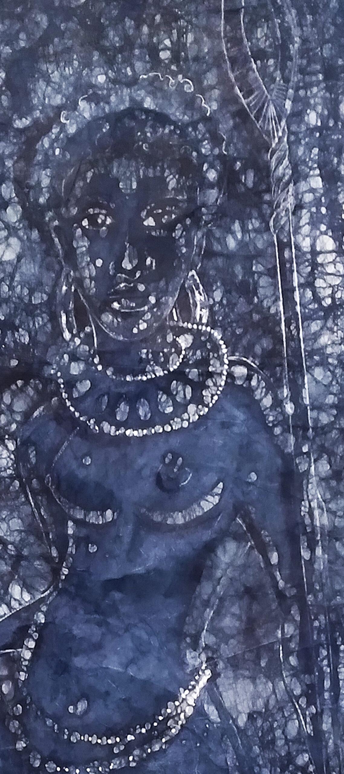 Osogbo Warrior detail