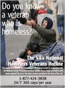 Homeless Veteran Hotline