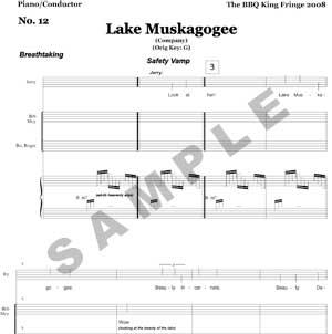 Lake Muskagogee Sample Page