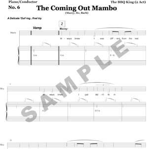 The Coming Out Mambo Sample Page