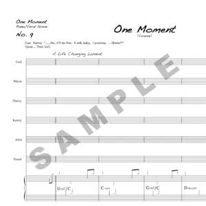 One Moment Sample Page