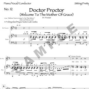 Doctor Proctor Sample Page