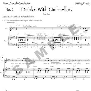 Drinks With Umbrellas Sample Page