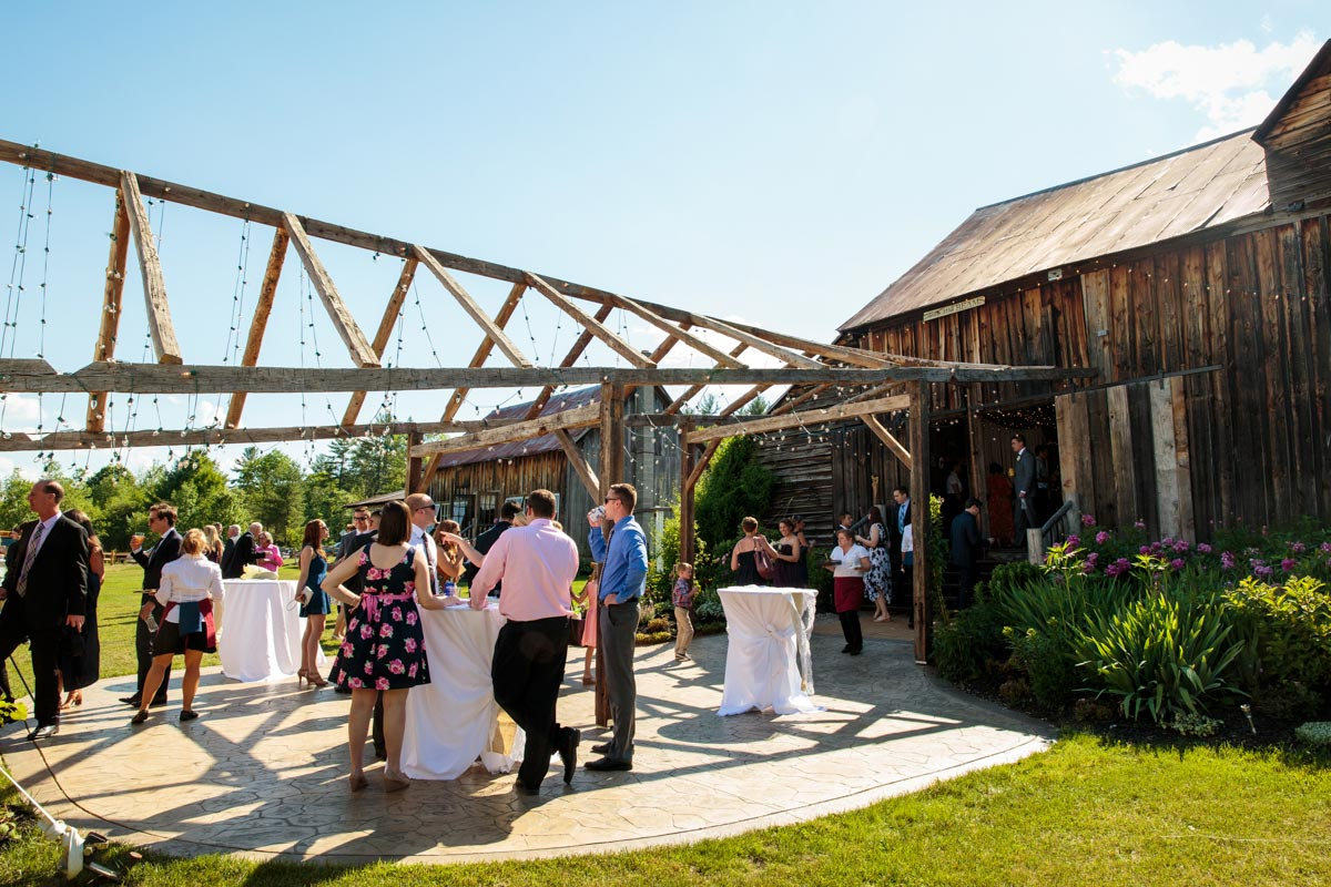Burlap & Beams Barn Wedding