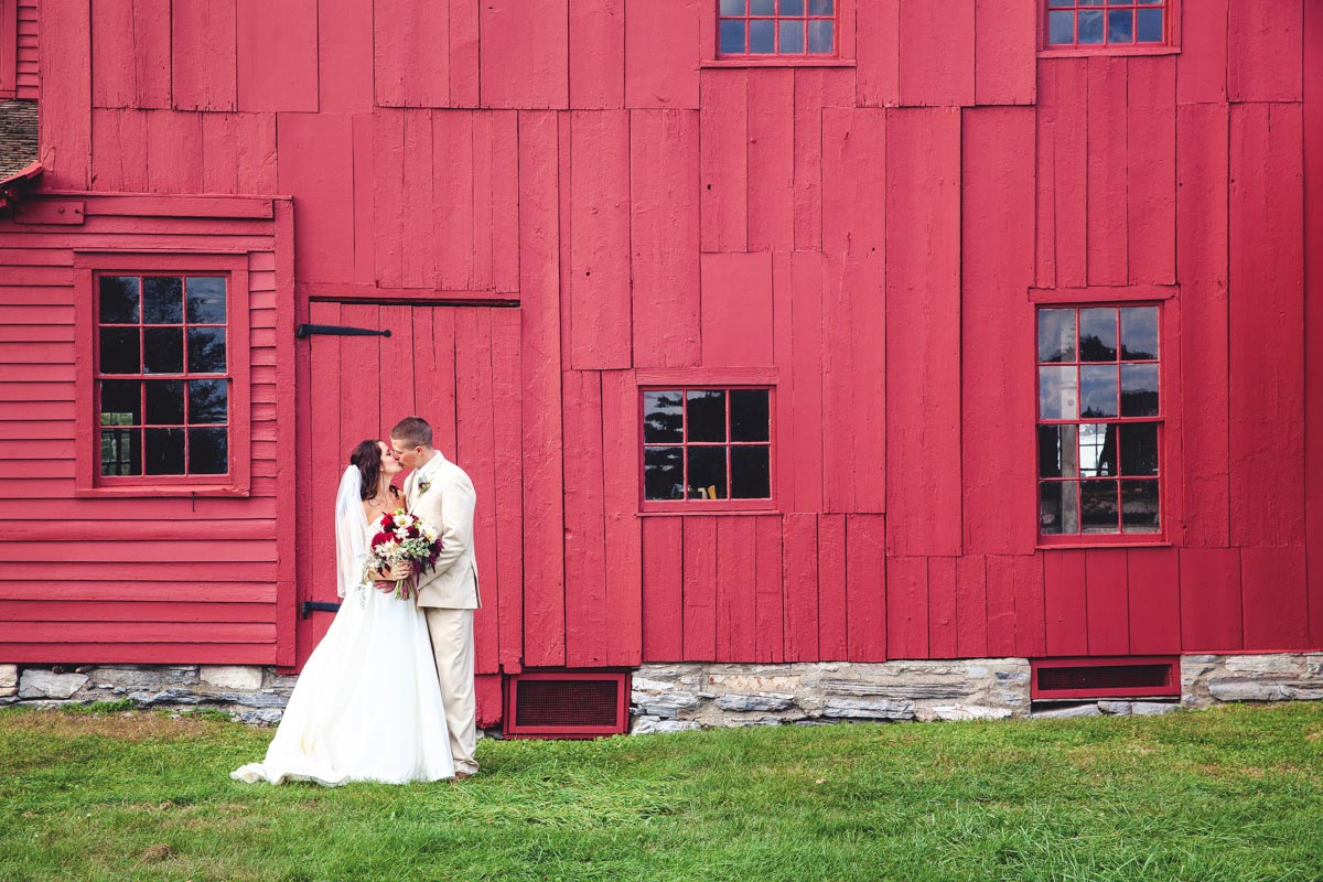 wedding hancock shaker village