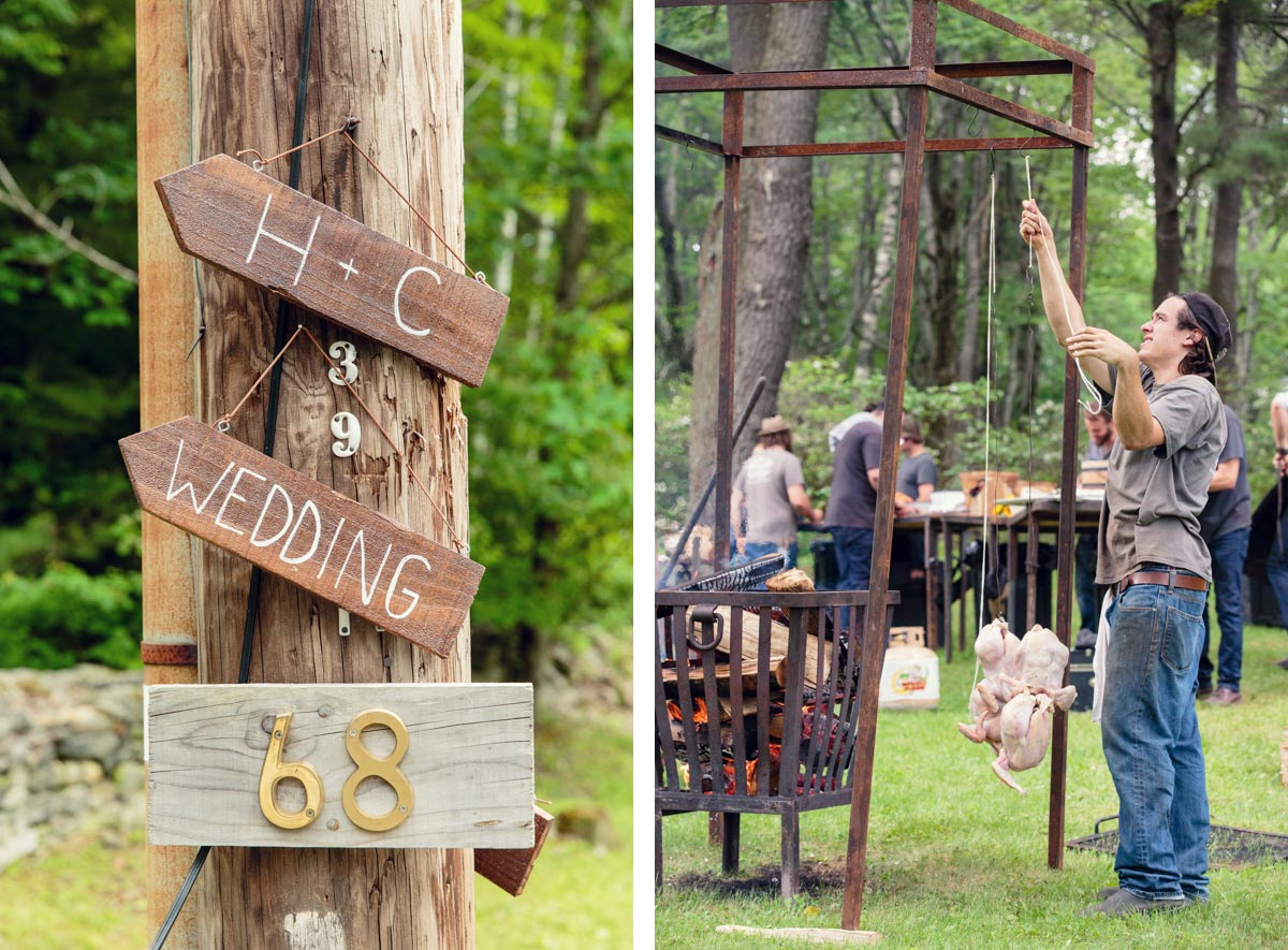 heirloom fire catering