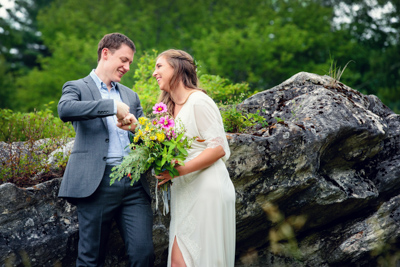 Summer Wedding with Heirloom Fire Catering