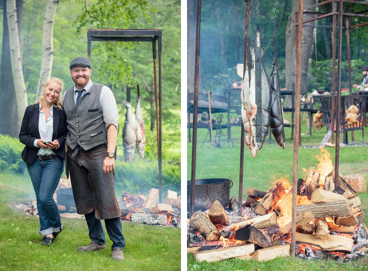 heirloom fire & Magdalena Events and Design