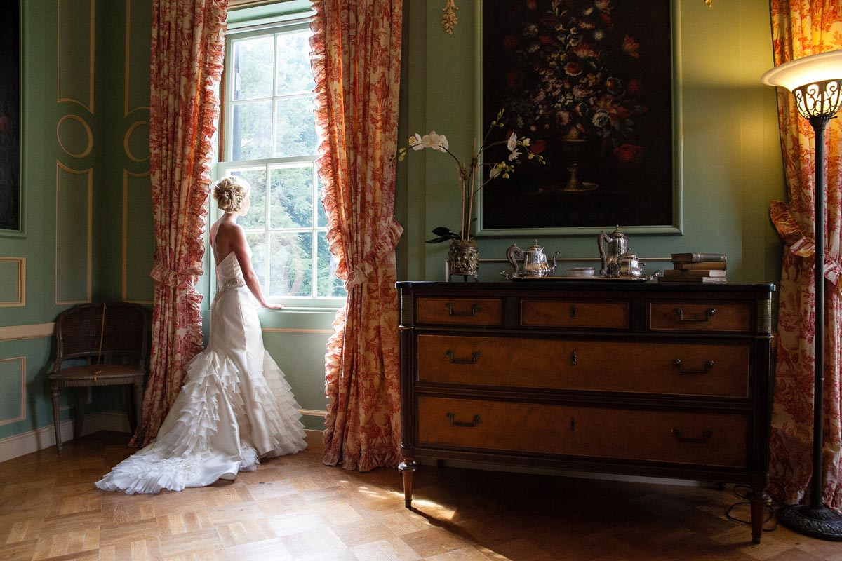wedding photography at the mount