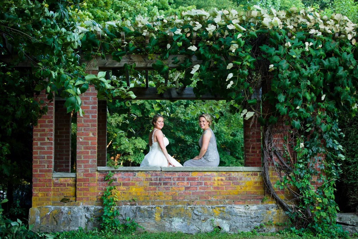 wedding at chesterwood in the berkshires