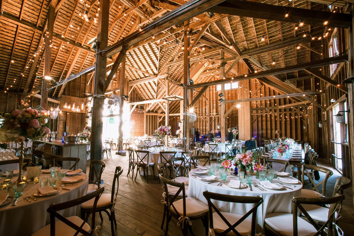 Stonover Farm wedding barn