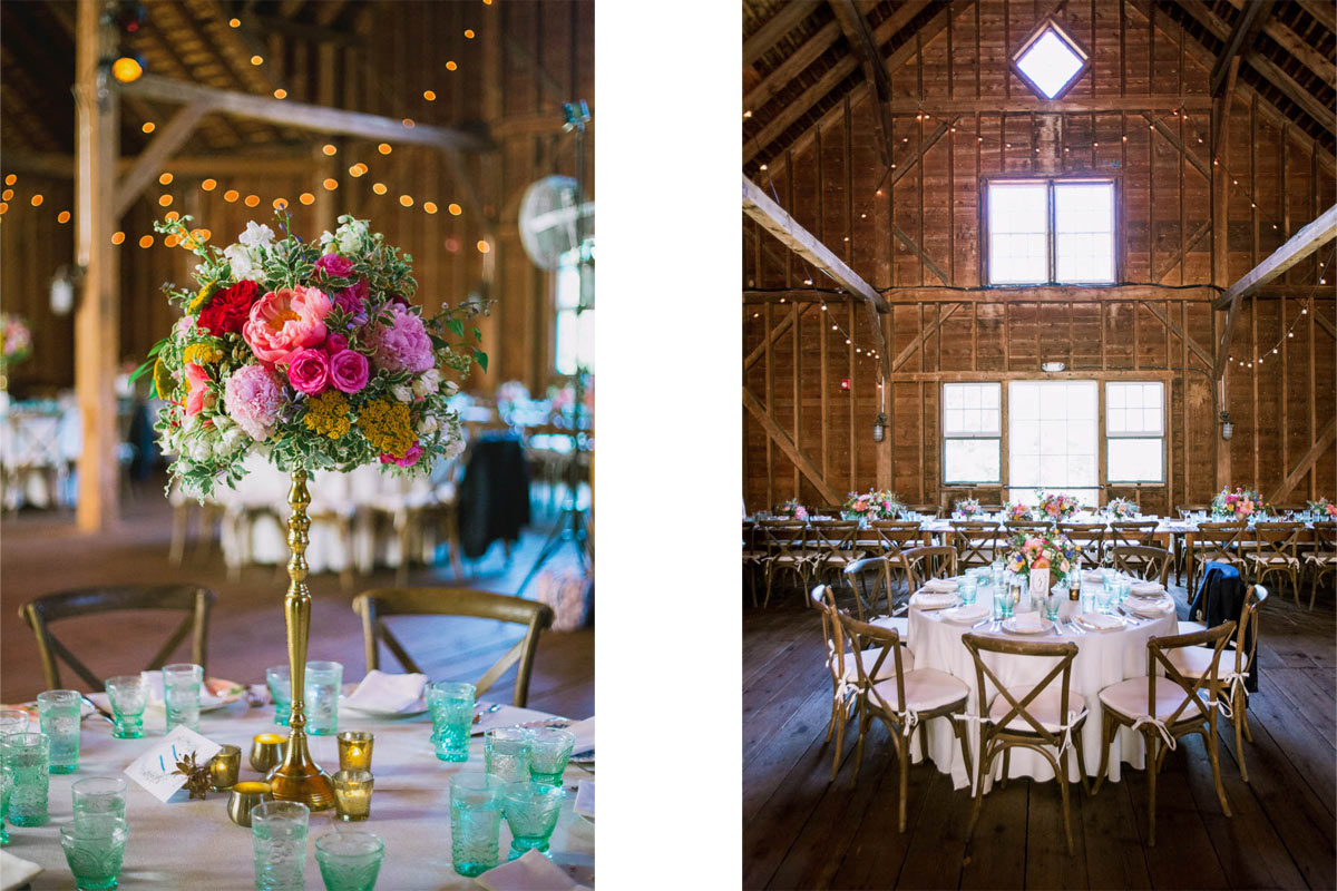 barn wedding stonover farm