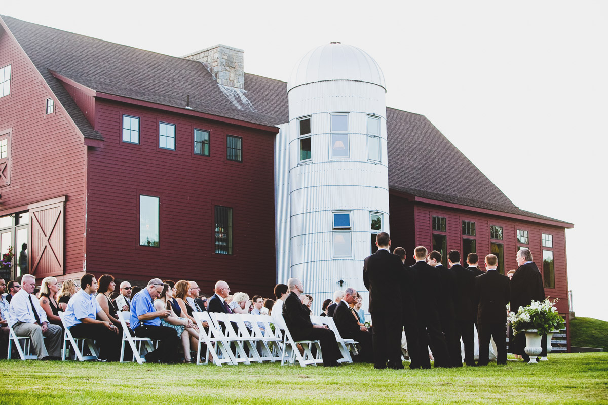 wedding at the barn at gibbet hill