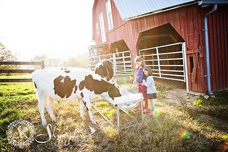 bernardo girls family photography session