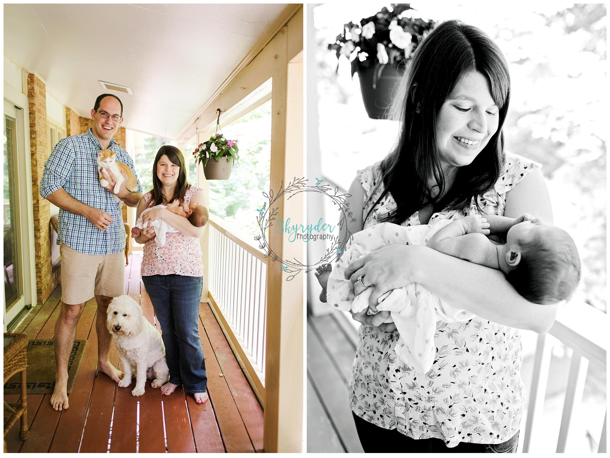 Baby Amelia | Blacksburg Lifestyle Newborn Photographer